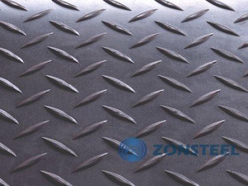No Treat Diamond Steel Sheet with Anti-slip Pattern