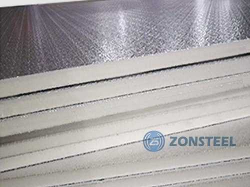 Duct Panel with Aluminum Foil Surface