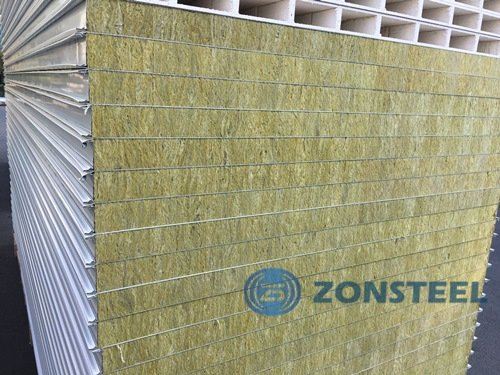 RockwoolPanel out of Insulated Sandwich