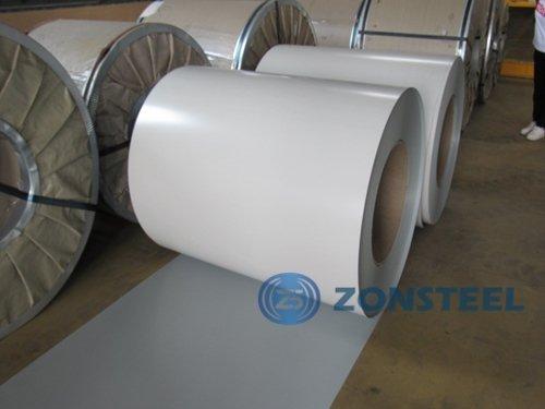 White Color PPGL Coil