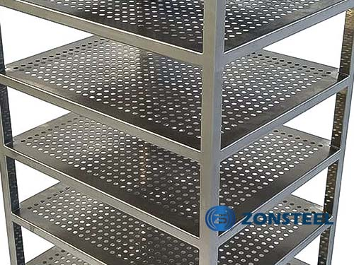 A Sample of Cleanroom Rack from Zonsteel