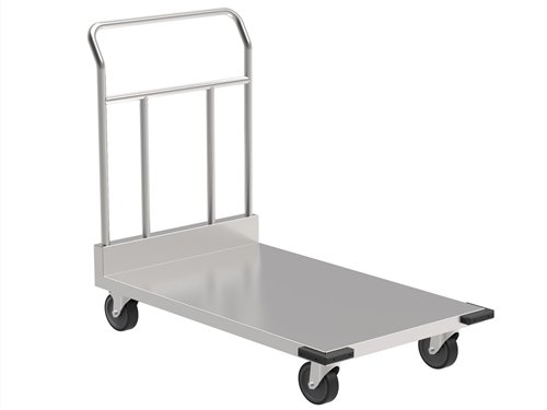 An Example of One-Layer Cleanroom Trolley