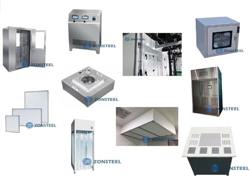 Different Types of Cleanroom Equipment
