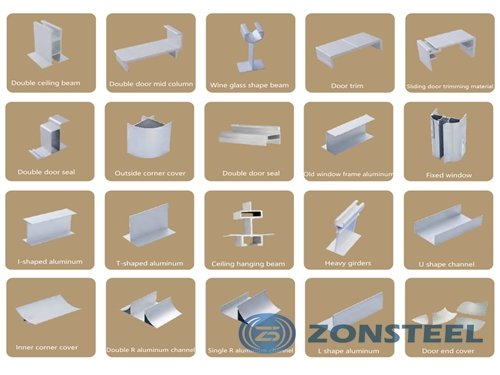 Types of Sandwich Panel Accessories