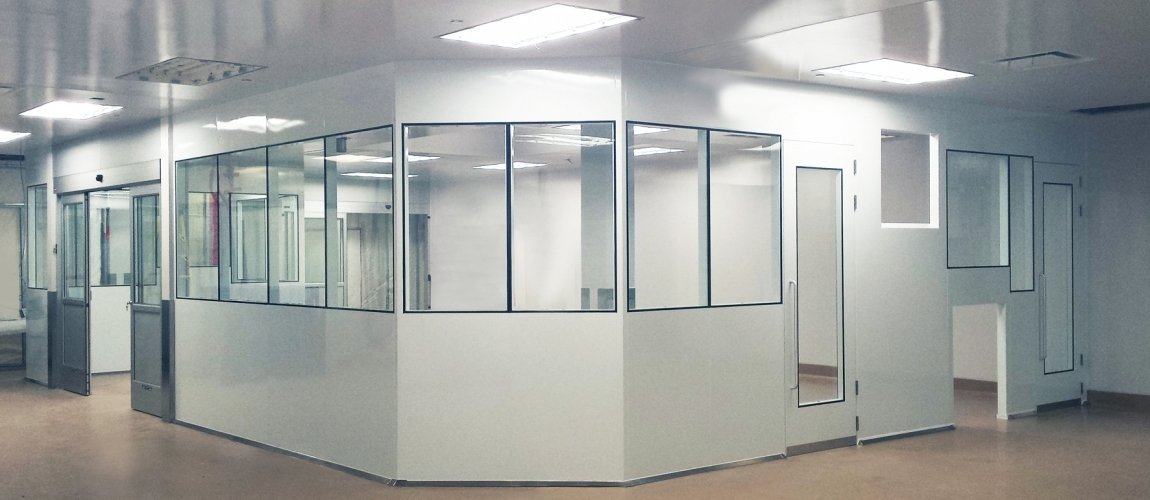 Clean Room Window - Tempered Glass