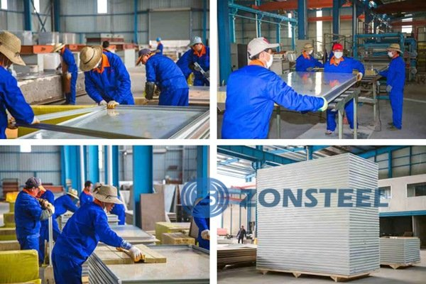Clean Room Panel Manufacture Process