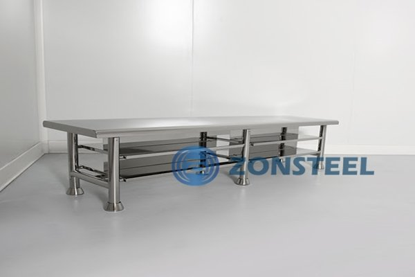 Cleanroom Furniture Stainless Steel Tables