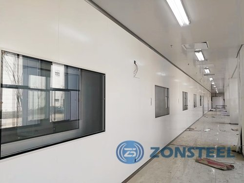 Install Clean Room Panel