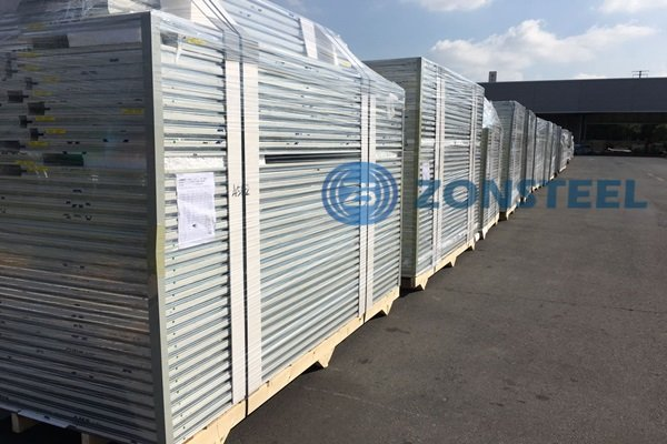 Clean Room Panel Storing