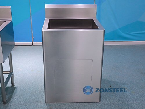 Cleanroom Furniture - Clean Room Equipment -Stainless Steel Basin