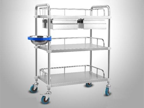 Three-layer Cleanroom Trolley