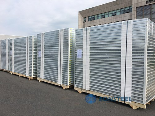 Stacked Clean Room PUF Panels