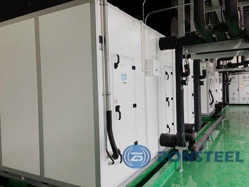 Cleanroom equipment - Assembled AHU Unit