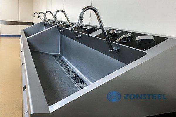Stainless Steel Clean Room Basin