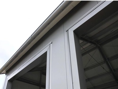 A Complete Installation of the Sandwich Panels