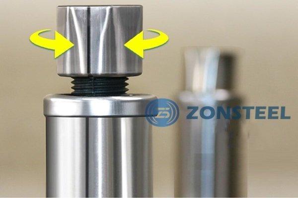 Stainless Steel Cleanroom Tables Adjustable Leg