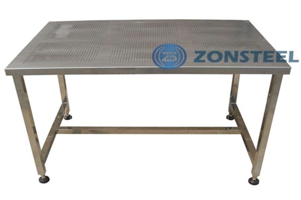 Perforated Cleanroom Table