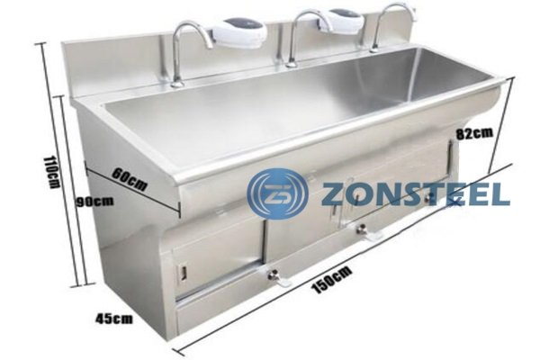 Stainless Steel Basin Pedal