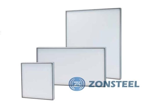 Cleanroom equipment - A cleanroom air filters in different sizes