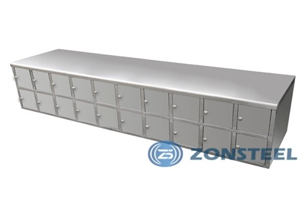 Stainless Steel Cleanroom Gowning Bench