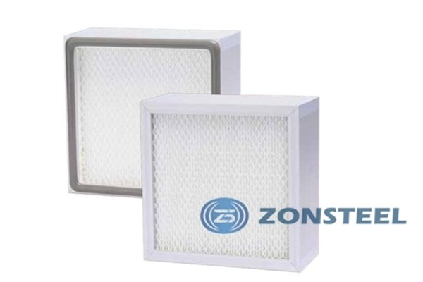 High Efficiency Clean Room Air Filter without Partition