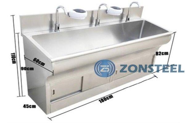 Stainless Steel Basin Sensor Faucet
