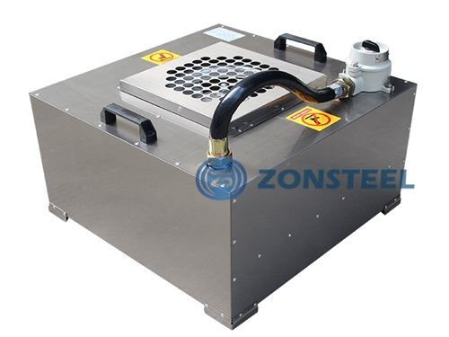 Cleanroom equipment - A complete fan filter unit