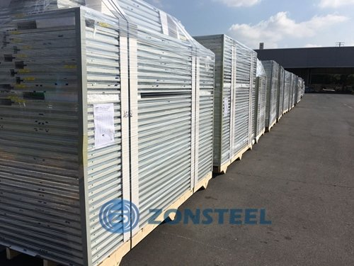 Sandwich Panels Ready for Shipping