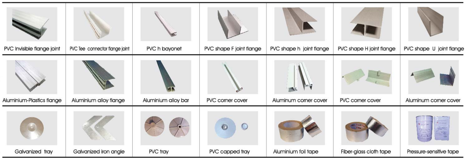 Duct Panel Accessories
