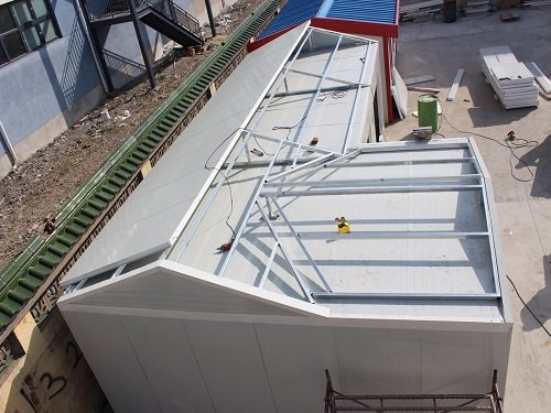 EPS Panel Made Modular House in Construction