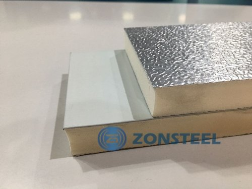 Duct Panel with Surface Smooth Steel Aluminum Foil