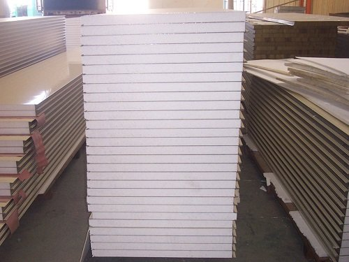 Stacked EPS Panels