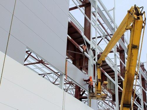 EPS Panel Wall Installation