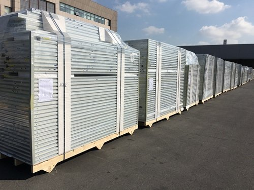 Rockwool Panels Packed Ready for Shipping